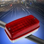 AE 431 LED buffer stop light from Aerco LOW RES