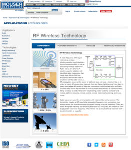 RF Technology site
