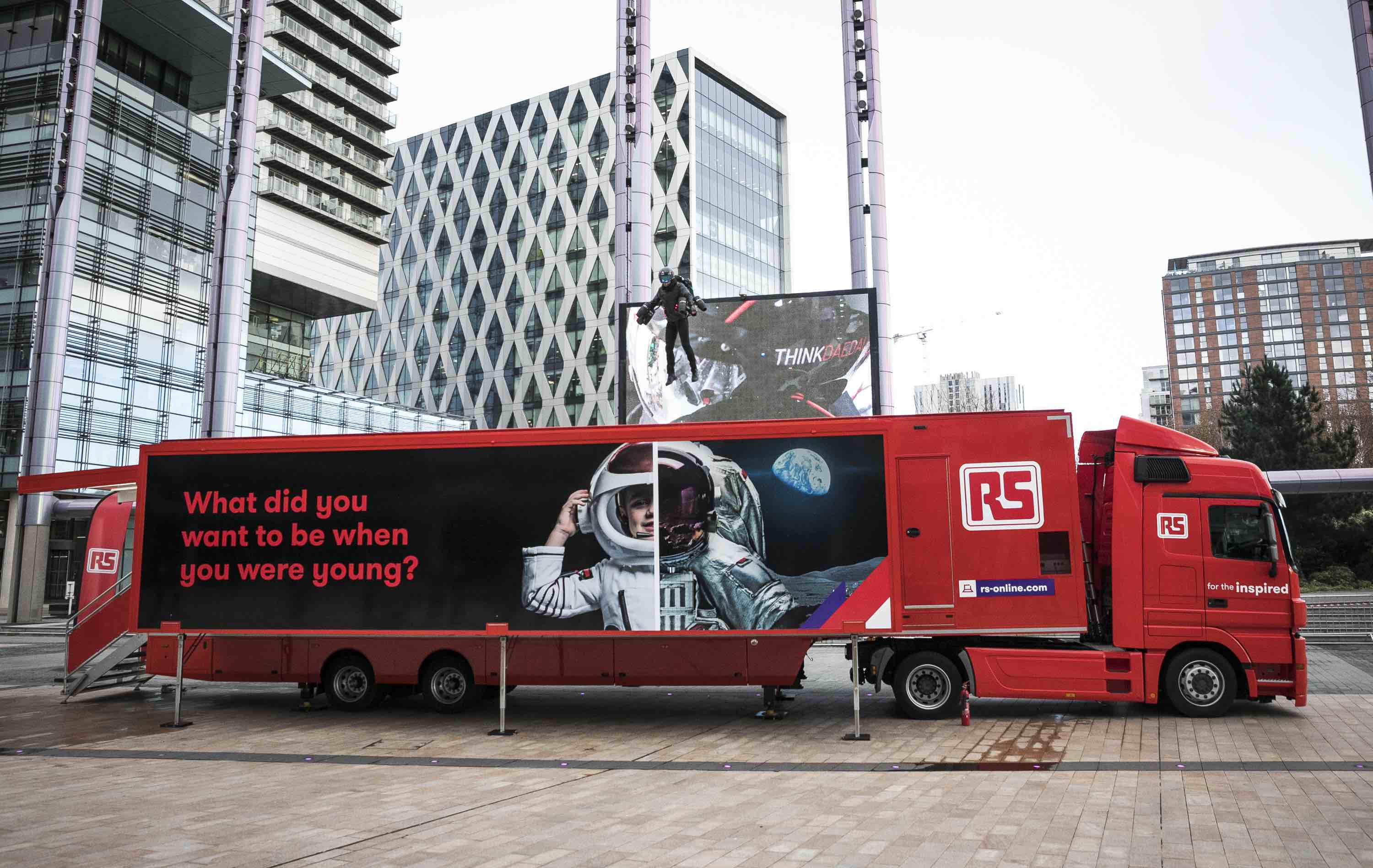 Rs Components Rolls Out Titan 2 Technology Truck