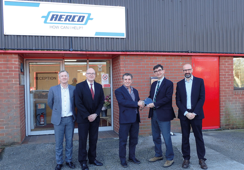 Aerco Wins Smiths Interconnect Design-In Award