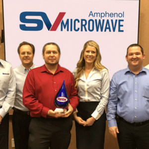 Digi-Key Wins SV Microwave Plaudit