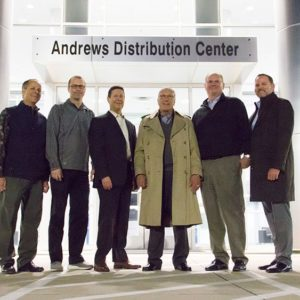 TTI Distribution Centre Honours Founder
