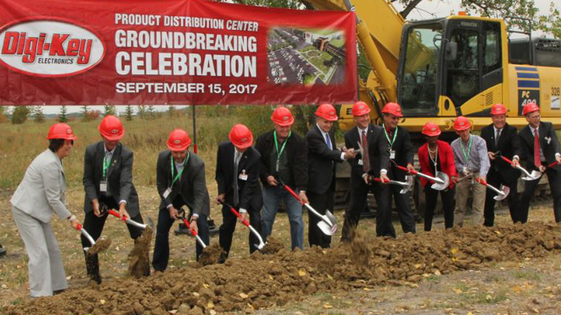 Construction Set To Start On Digi-Key's $300m Facility