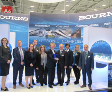 Anglia Wins Regional Accolade From Bourns
