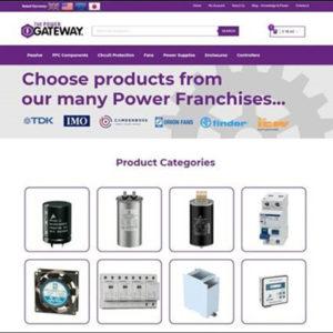 Website Drives Gateway's Power Push