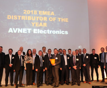 Avnet Doubles Up At TE Connectivity Awards
