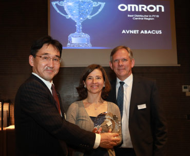 Avnet Abacus Wins Omron Plaudit