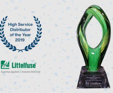 Mouser Commitment Wins Littelfuse Award