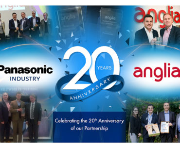 Anglia, Panasonic Celebrate 20 Years Together