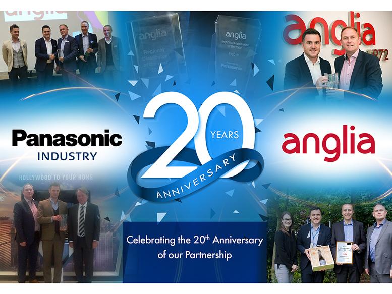 Anglia e Panasonic comemoram 20 anos juntos 5
