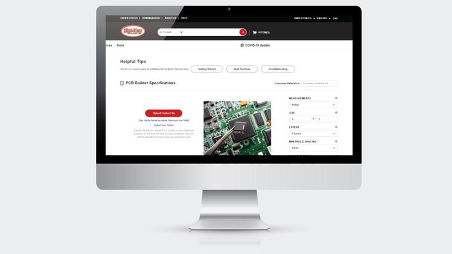 Digi-Key lança ferramenta PCB Builder