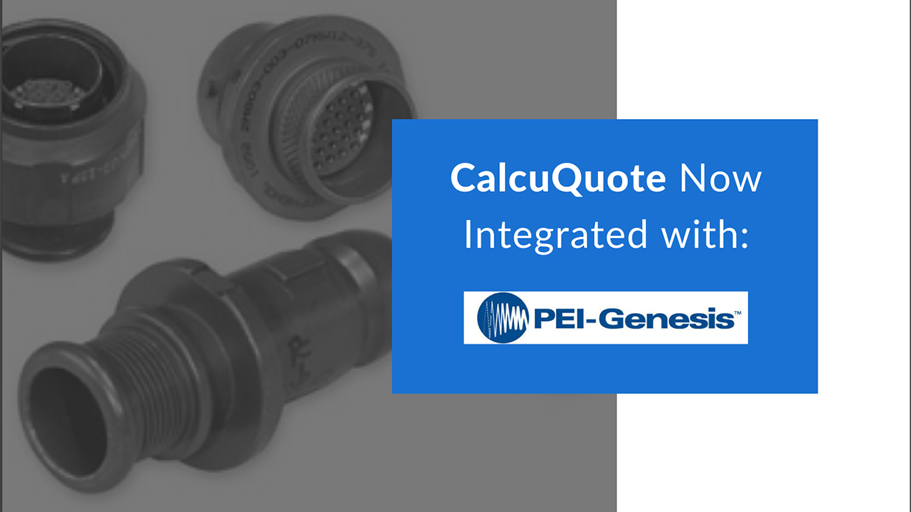 CalcuQuote Sets Up Integration With PEI-Genesis