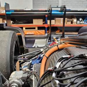 Powell Electronics Sponsors 'Revolution' Race Car Project
